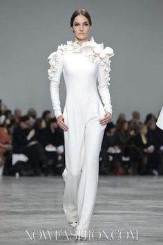 Stéphane Rolland Haute Couture S/S 2013. floral jumpsuit