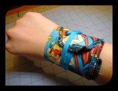Crossfit Wrist Wraps - Marvel Heroes. $20.00, via Etsy for Ryan!