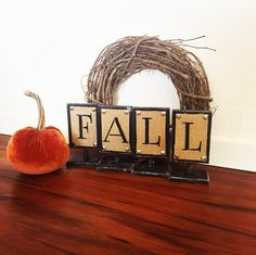 Check out our fall décor 🍁🍁 2-in-1 sign 😀 you can display this all year round!!