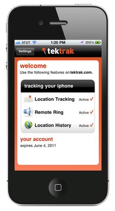 With TekTrak, you might never lose your phone again.