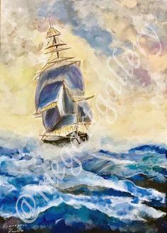 Artist: Kratimenou Konstantina Title: the sailboat oilpainting Joomla Templates, Fingerprints, Sailboat, Gallery, Artist, Painting, Sailing Boat, Painting Art, Paintings