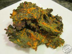 Baked Nacho Kale Chips