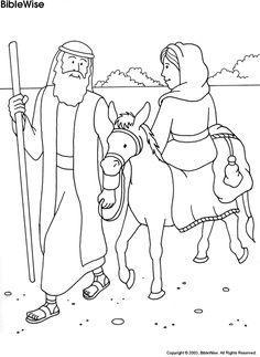Abram & Sarai Coloring Page