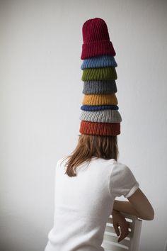 Corka Rybaka - hand knitted in Warsaw