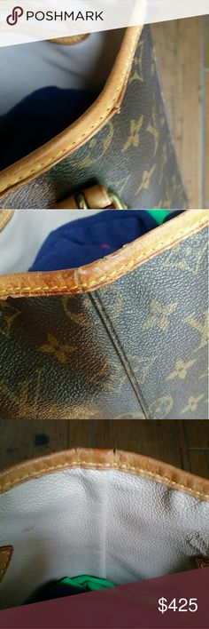 Additional photos of LV bucket GM Check my closet for details Louis Vuitton Bags Shoulder Bags