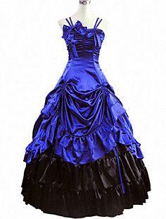 Elegant Queen Satin Multi-layered Classic Lolita Dress – EUR € 103.14