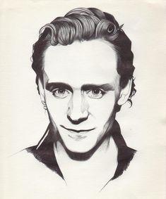 Tom Hiddleston -Art