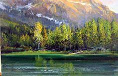 'Mt. Bachelor in Summer' by Gil Dellinger