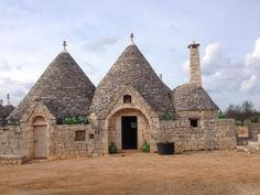"Trulli ""Mace"", Castellana Grotte, Puglia. Italian holiday homes ..."