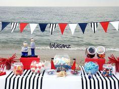 lolaSanz: Mesa marinera para comunión