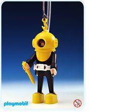 James playmobil diver