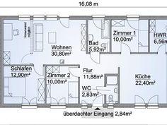 Scanhaus SH 105 B XXL - Erdgeschoss
