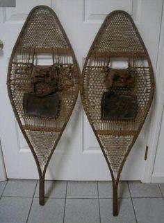 Wood Snowshoes