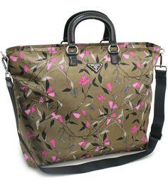 prada tessuto & saffiano messenger bag - Bloomy bags on Pinterest   Valentino, Prada and Leather Flowers