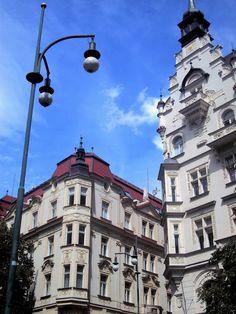 Arte Nova na Avenida Pariska Praga