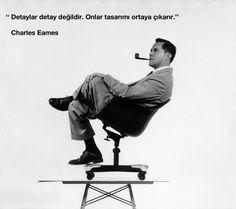 """""""Detaylar detay değildir. Onlar tasarımı ortaya çıkarır."""" Charles Eames. #ceramicsdesign #CharlesEames"""