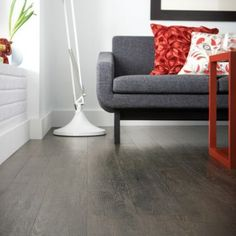 Wicanders Vinylcomfort Cork is available in nine authentic wood plank looks and two realistic stone tile decors.