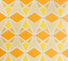 #pattern #yellow #geometric