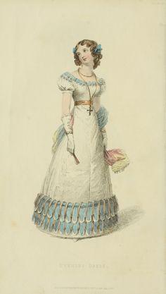 EKDuncan - My Fanciful Muse: Regency Era Fashions - Ackermann's Repository 1826
