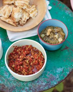with Roasted Red Peppers, Chickpeas, and Spinach | Recipe | Roasted ...