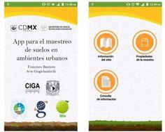 App para el muestreo de suelos urbanos