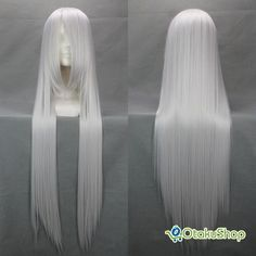long silver cosplay wig - 26.99