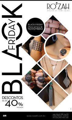 Campanha Black Friday   Cliente: Rozah   E-mail mkt