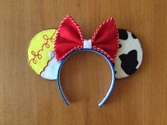 Toy Story's Jessie Inspired Minnie Mouse Ears by teilormade