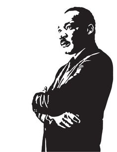 Martin Luther King Jr Art Print - Illustration of the Civil Rights Leader // gifts for liberals // political science // black history month Jr Art, King Art, Hip Hop Art, Scroll Saw Patterns, Silhouette Art, Stencil Art, Art Classroom, Cool Posters, Famous Faces