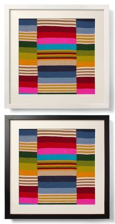 This archival print depicts a handwoven piece made from pure Tibetan sheep's wool to produce a fabric called Sherma. Sherma is one of the finest woven textile made in Tibet. After spinning, this wool is dyed using natural plant-based dyes and then woven into strips.