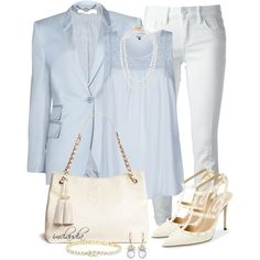 A fashion look from August 2014 featuring ONLY tops, STELLA McCARTNEY blazers and Tory Burch jeans. Browse and shop related looks.
