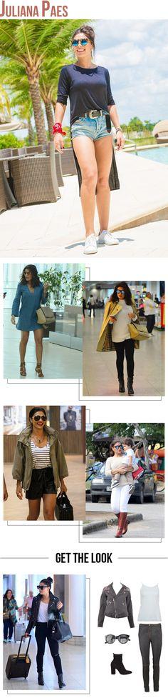 O estilo de três atrizes brasileiras para se inspirar em looks do dia a dia…