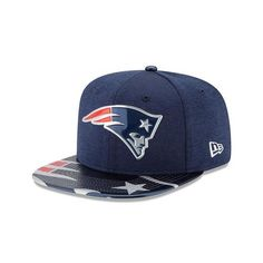 New England Patriots Youth Hat New Era 2017 On Stage NFL Draft 9Fifty Kids Snapback Cap
