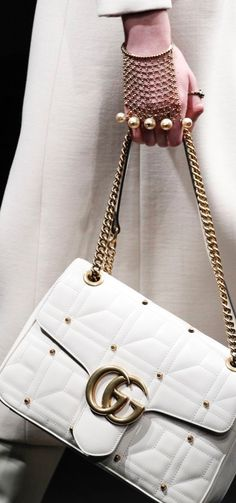 2c38a3bcc8 Gucci Fashion Show Details WOMEN S ACCESSORIES http   amzn.to 2kZf4gO Gucci