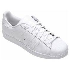 43ce03c8e7 Tênis Couro Adidas Superstar Foundation Masculino - Compre Agora