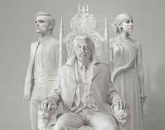 From President Snow to ordinary citizens of the various districts, the residents of Panem look extra intense in this series by fine-art photographer Tim Palen.