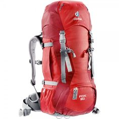 DEUTER Fox 30, Piros | MALL.HU