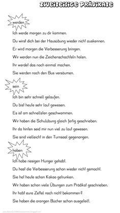 96 best Satz images on Pinterest in 2018 | German grammar, German ...