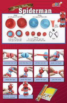 #kokoru #kokorupaper #DIY #spiderman