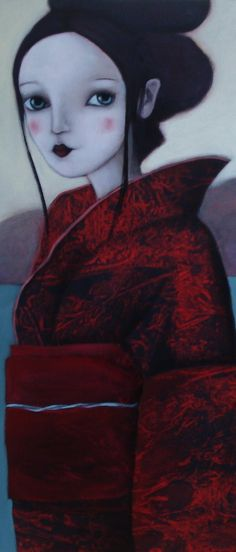 Evelina Oliveira Memoirs Of A Geisha, Various Artists, Painting, Painting Art, Paintings, Drawings