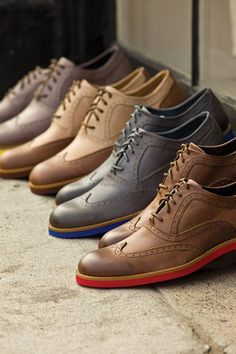 Ben Sherman wingtip oxford colors