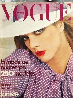 Sylvie Vartan, Vogue Paris, March 1974.