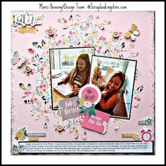 Sweet scrapbook layout by Marci (@marcilynnb) using our gorgeous papers and Upgrades from our September 2020 Kit ✂💯✂  ScrapbookingStore offers a variety of papers and upgrades to coordinate on all your crafts and layouts 💝  #scrapbookingstore #iam2020 #scrapbooklayout #scrapbookingkits #papercraft #scrapbooking #cardmaking Baby Scrapbook, Scrapbook Paper, Scrapbooking, Cardmaking, Layouts, September, Kit, Frame, Sweet