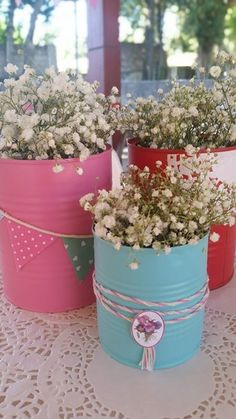 Baby Shower Ideas for Girls and Boys. Baby shower decorations and baby shower . Horse Birthday, Cowgirl Birthday, Cowgirl Party, Deco Floral, Art Floral, 3rd Birthday Parties, 2nd Birthday, Birthday Ideas, Tin Can Crafts