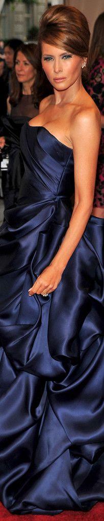 First Lady Melania Trump First Lady Melania Trump, Trump Melania, Donald Trump Family, Melania Knauss Trump, High Fashion Photography, Thing 1, Models, Ivanka Trump, Blue Fashion