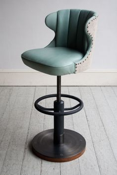 Howe London RH BAR STOOL - Howe. Commercial grade. Wow, these would be perfect for our kitchen.