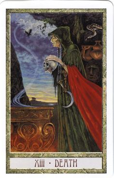 Death from the Druid Craft Tarot
