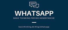 BASIC thinking auf WhatsApp