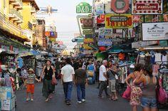 Het beruchte Khao San Road