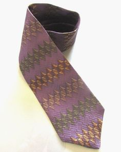 Men's Neck Tie 100% Silk Purple Black Gold Gray Brown Franco Fossi New #FrancoFossi #NeckTie #Menswear #FathersDay #GiftIdeas #Shop #eBay
